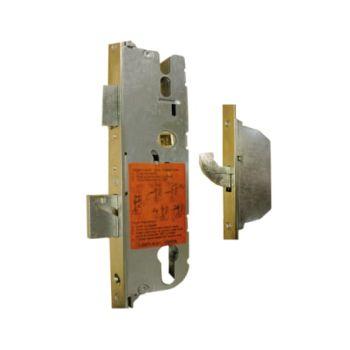 G-U 2 Hooks 1 Latch 1 Deadbolt Wide Faceplate Multipoint Lock