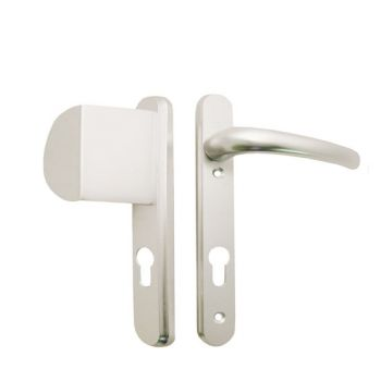 Hoppe Atlanta Lever/Fixed Pad Door Handle