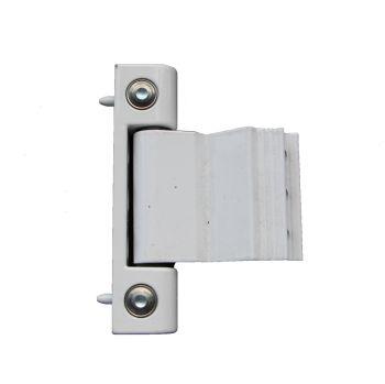 Paddock White Door Hinge
