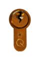 GreenteQ Q-Star 6 Pin British Standard Euro Cylinder Lock