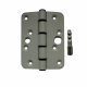 A high security steel hinge suitable for UPVC and composite doors.