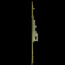 Fullex 2 Point Patio Door Lock - Pins On Frame - 105mm PZ Centre