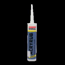 Soudal Acryrub Decorators Caulk Acrylic