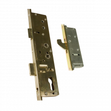 This Lockmaster lock provides extra security to doors