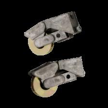 CA 863 Zinc Car Steel Patio Roller