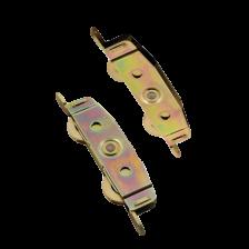 D-1973 S/Steel Patio Rollers